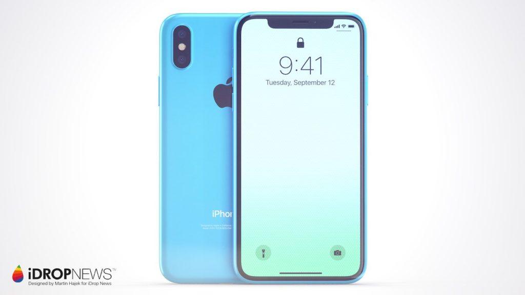 iPhone Xc iDrop News x Martin Hajek 1 1024x576 - iPhone Xc : un concept qui mélange l'iPhone X et l'iPhone 5c