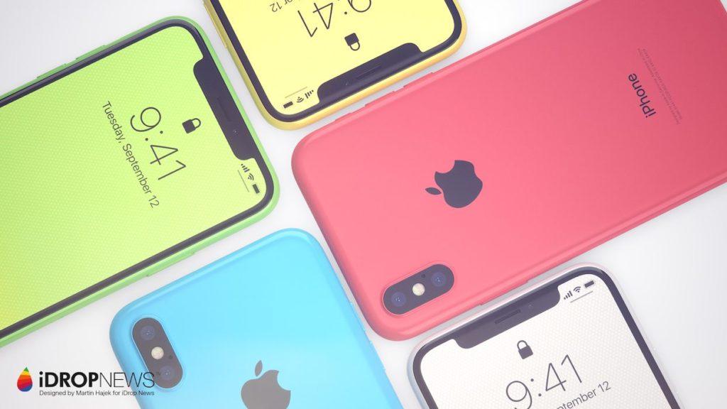 iPhone Xc iDrop News x Martin Hajek 2 1024x576 - iPhone Xc : un concept qui mélange l'iPhone X et l'iPhone 5c