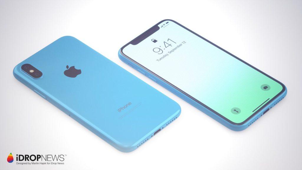 iPhone Xc iDrop News x Martin Hajek 5 1024x576 - iPhone Xc : un concept qui mélange l'iPhone X et l'iPhone 5c