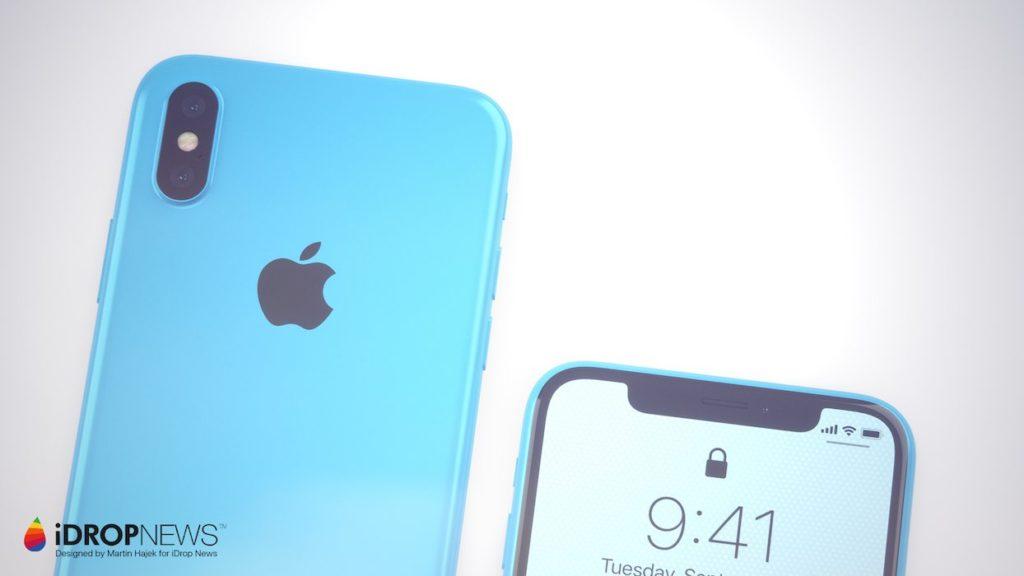iPhone Xc iDrop News x Martin Hajek 6 1024x576 - iPhone Xc : un concept qui mélange l'iPhone X et l'iPhone 5c
