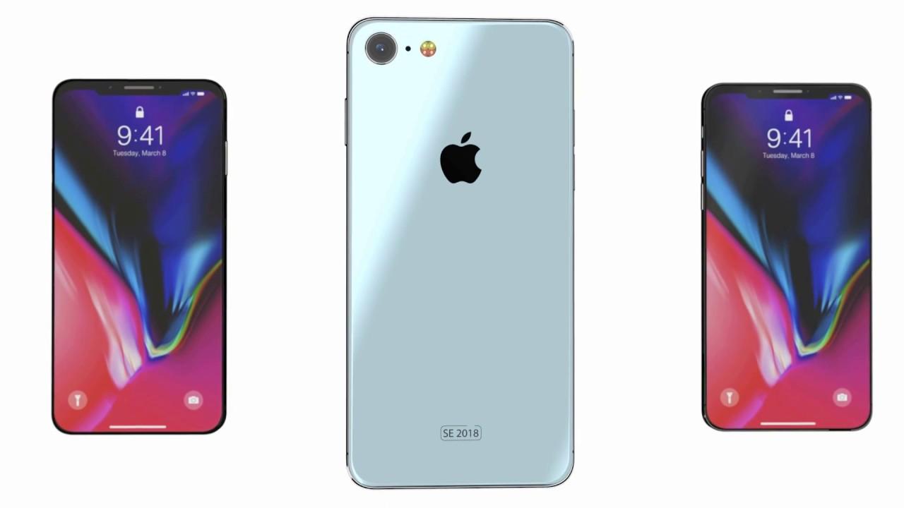 iphone se 2018 iphone x concept - Cinq iPhone différents en 2020 ?