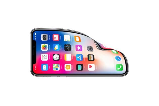 iphone x ecran flexible - Apple : une demande de brevet pour un écran d'iPhone pliable