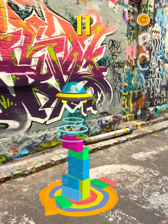 lets stack arjpg - Jeu du jour : Let's Stack AR! (iPhone & iPad)