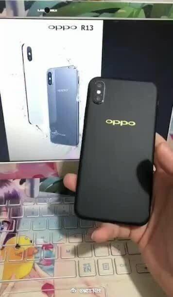 oppo r13 leak 3 - OPPO R13 : une copie conforme de l'iPhone X, mais sous Android