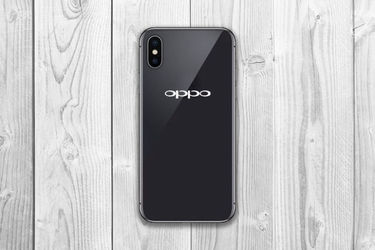 OPPO R13 : une copie conforme de l'iPhone X, mais sous Android