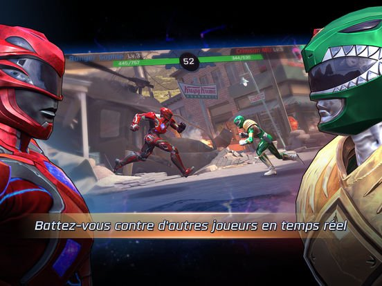 Jeu du jour : Power Rangers : Legacy Wars (iPhone & iPad – gratuit)