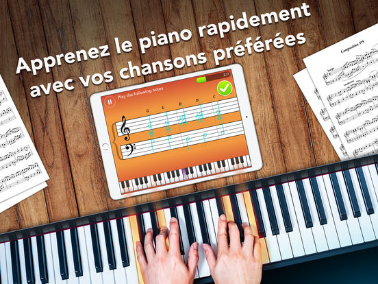 simply piano - App du jour : Simply Piano par JoyTunes (iPhone & iPad - gratuit)