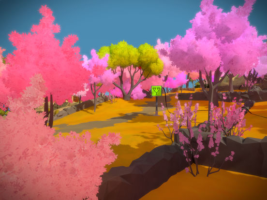the witness - Apple : les meilleurs jeux iOS de 2017 sont Splitter Critters & The Witness