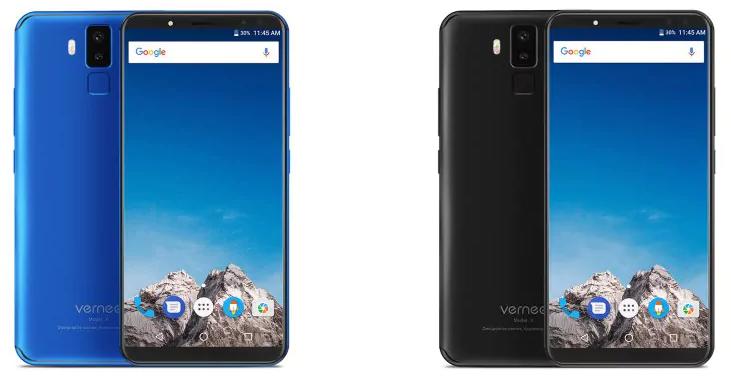 vernee x 4g bleu noir - Vernee X 4G : le smartphone aux 4 capteurs photo à 213€ sur GearBest !