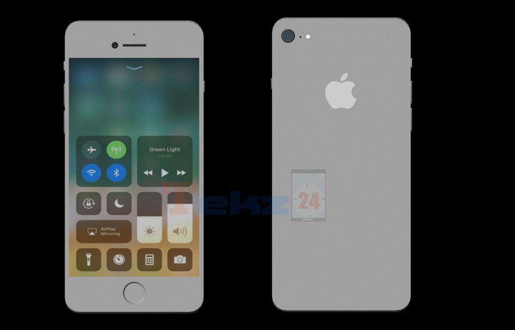 Iphone se 2 rendu avant 1024x656 - iPhone SE 2 : dos en verre et recharge sans fil au programme ?