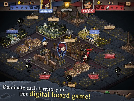 antihero - Jeu du jour : Antihero - Digital Board Game (iPhone & iPad - 5,49€)