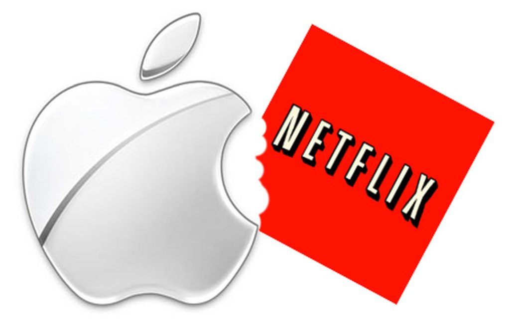 apple netflix 1 1024x675 - Netflix aurait 40% de probabilité d'être rachetée par Apple