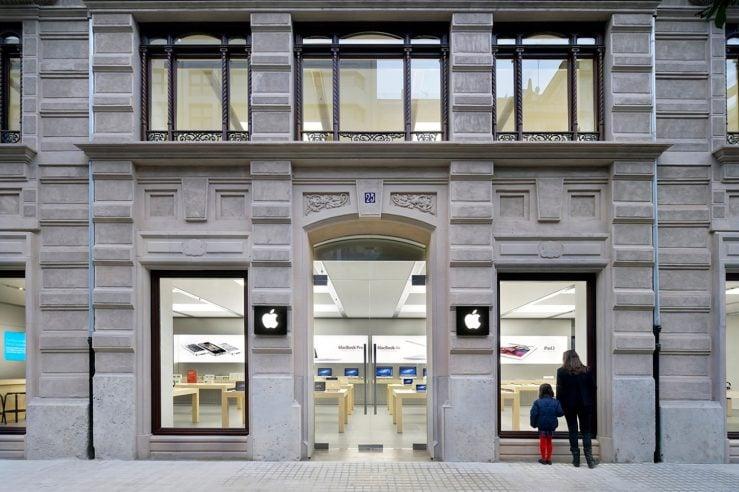 apple store valence espagne - Espagne : une batterie d'iPhone explose en plein Apple Store