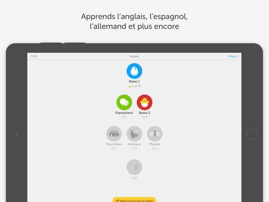 duolingo - App du jour : Duolingo (iPhone & iPad - gratuit)