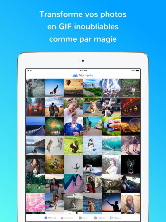 momento gif - App du jour : Momento - Créateur de GIF (iPhone & iPad - gratuit)