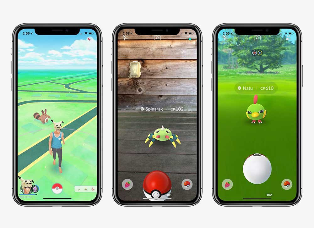 pokemon go iphone x - Pokémon Go va abandonner les iPhone & iPad 32 bits