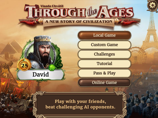 through the ages - Jeu du jour : Through the Ages (iPhone & iPad - 10,99€)