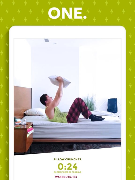 App du jour : Wakeout - Workout routines to wake up (iPhone & iPad)