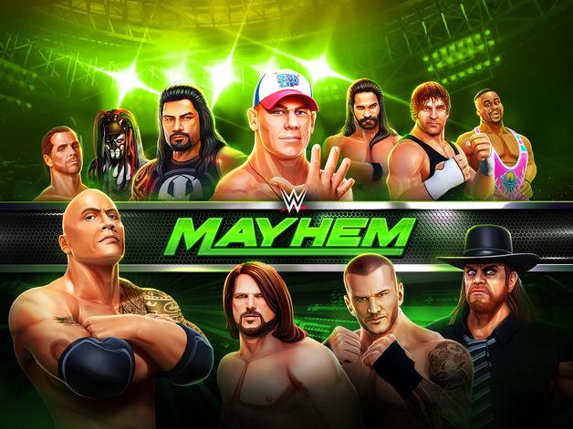 wwe mayhem - Jeu du jour : WWE Mayhem (iPhone & iPad - gratuit)