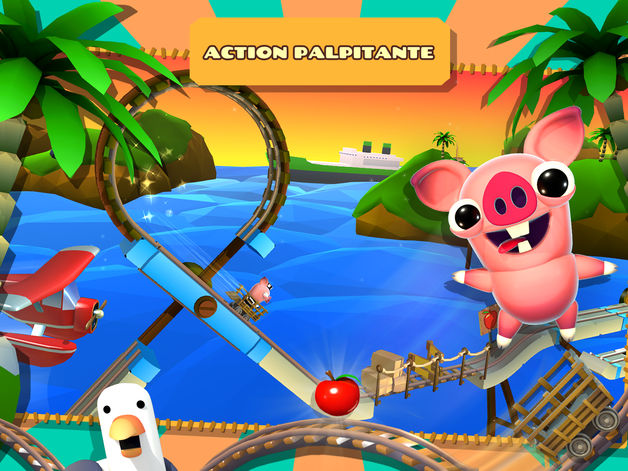 Jeu du jour : Bacon Escape (iPhone & iPad – gratuit)