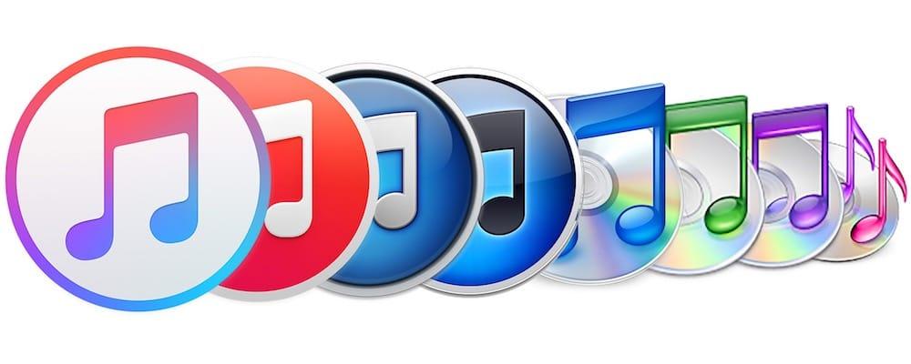 evolution logo itunes 2018 - iTunes Store : Apple abandonnerait la vente de musique d'ici 2019