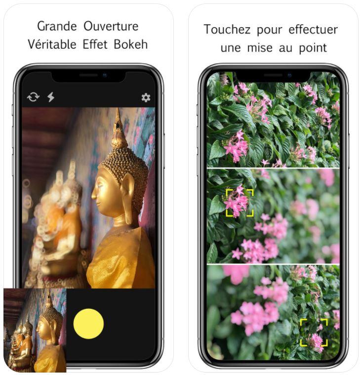 focos - App du jour : Focos (iPhone - gratuit)