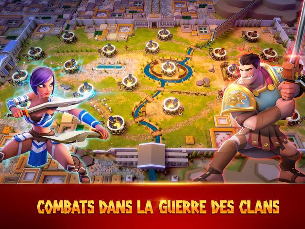 Jeu du jour : Gladiator Heroes (iPhone & iPad – gratuit)