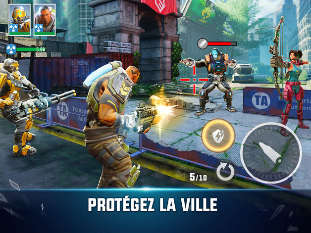 hero hunters - Jeu du jour : Hero Hunters (iPhone & iPad - gratuit)