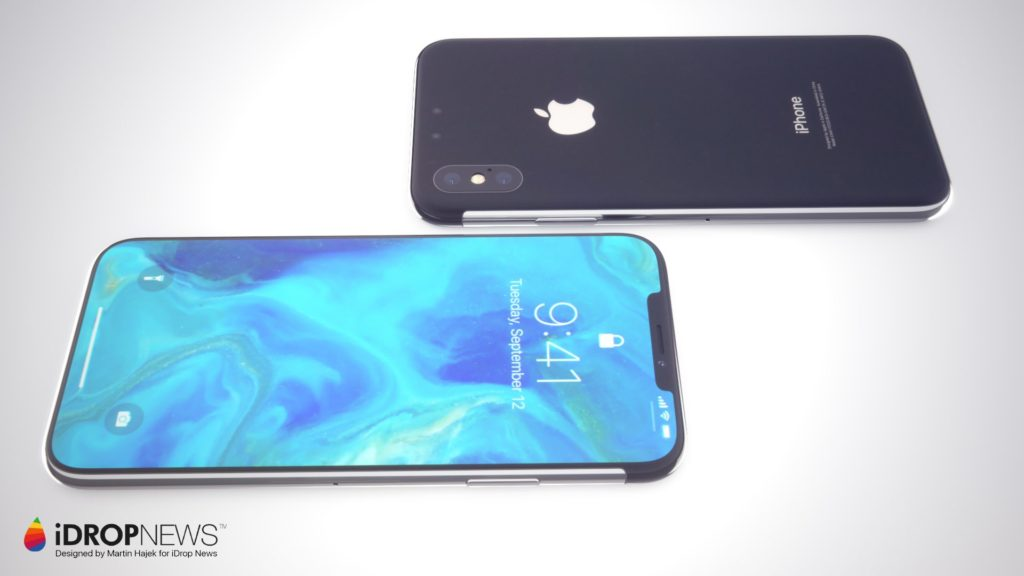 iPhone XI Concept Images iDrop News 1 1024x576 - iPhone de 2018 : de meilleures batteries et davantage de RAM ?