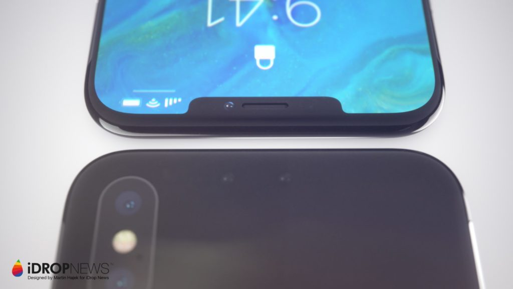 iPhone X : un concept d'iPhone XI avec une encoche réduite