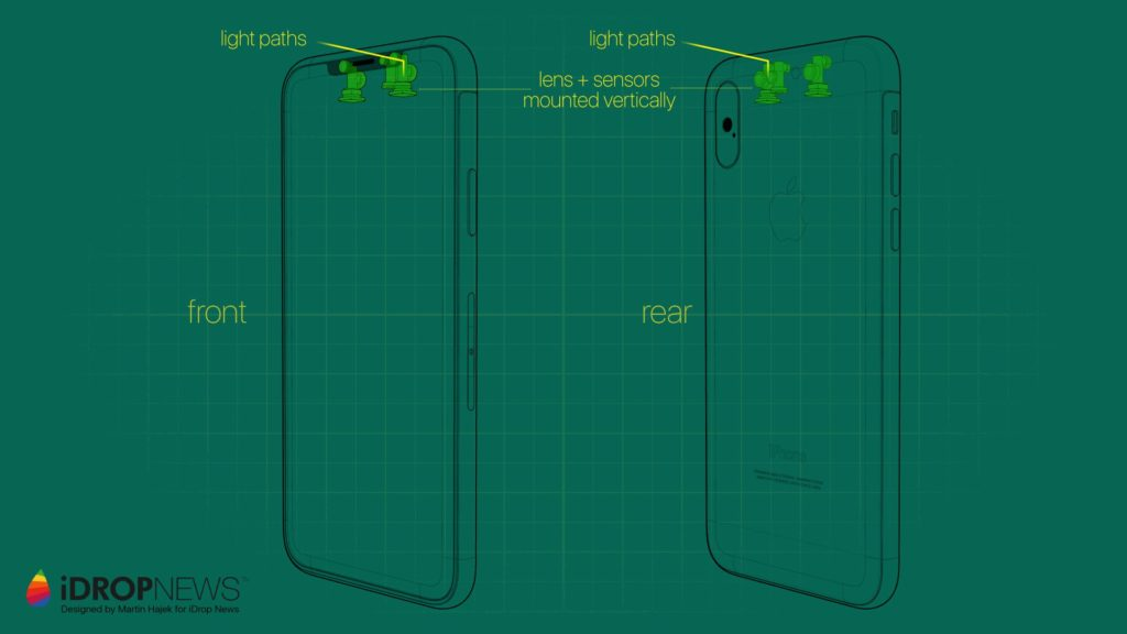 iPhone XI Concept Images iDrop News 8 1024x576 - iPhone X : un concept d'iPhone XI avec une encoche réduite
