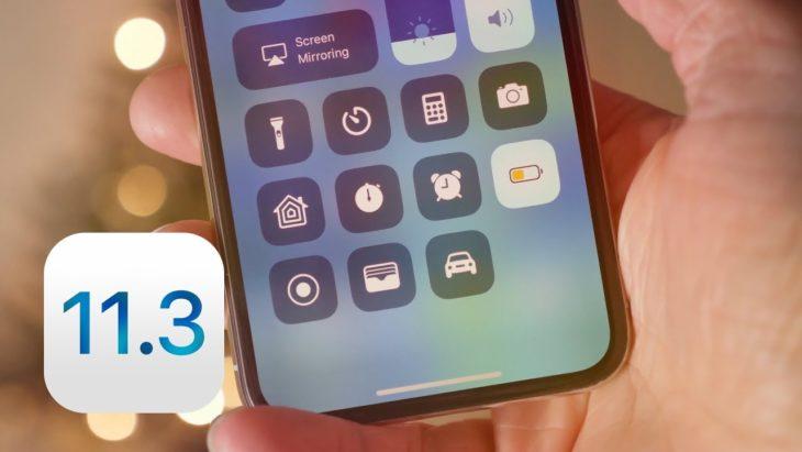 iOS 11.3 : Apple dévoile les nouveautés à venir