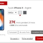 iphone x location free mobile 150x150 - L'iPhone XR est disponible à la location chez Free Mobile
