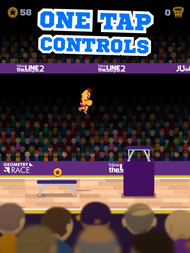 Jeu du jour : Mascot Dunks (iPhone & iPad – gratuit)