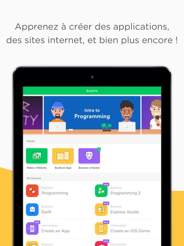 mimo apprendre a coder - App du jour : Mimo : Apprendre à coder (iPhone & iPad - gratuit)