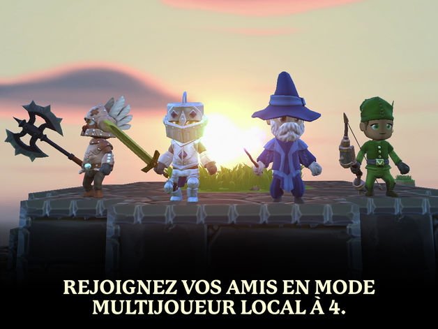 portal knights - Jeu du jour : Portal Knights (iPhone & iPad - 5,49€)