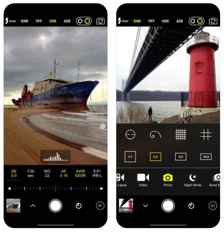 procam 5 - App du jour : ProCam 5 (iPhone & iPad - 6,99€)