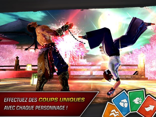tekken iphone ipad - Jeu du jour : Tekken (iPhone & iPad - gratuit)