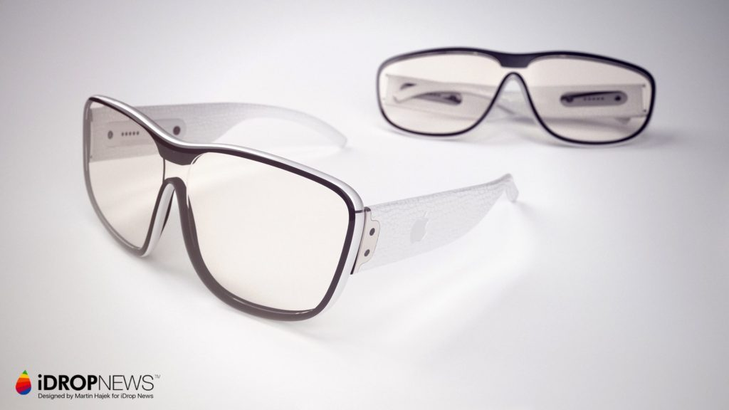 Apple Glass AR Glasses iDrop News x Martin Hajek 11 1024x576 - Apple Glass : un concept alléchant de lunettes AR