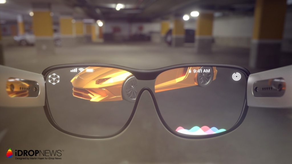 Apple Glass AR Glasses iDrop News x Martin Hajek 8 1024x576 - Apple Glass : un concept alléchant de lunettes AR