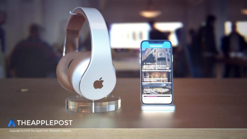 Concept Casque Apple Premium 2 1024x575 - Apple : des technologies du HomePod dans le futur casque audio ?