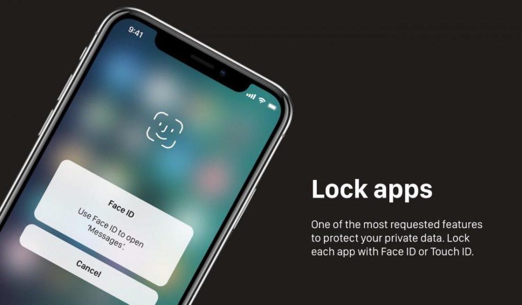 """Concept iOS 12 Face ID 1100x643 1024x599 - iOS 12 : un concept avec des modes """"Sombre"""" & """"Invité"""""""