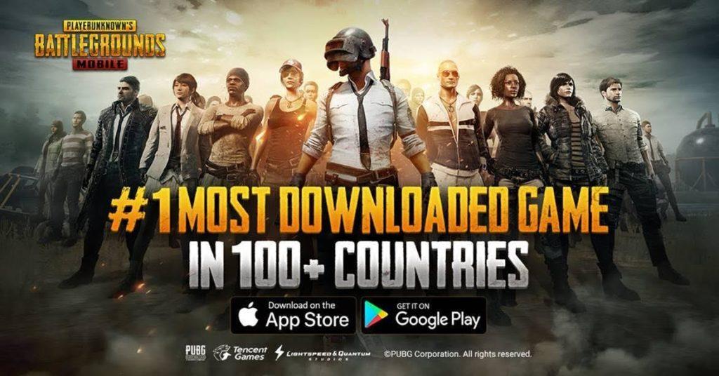 PUBG Mobile n1 100 pays 1024x536 - PUBG Mobile se classe n°1 dans plus de 100 pays