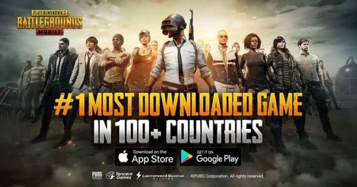 PUBG Mobile se classe n°1 dans plus de 100 pays