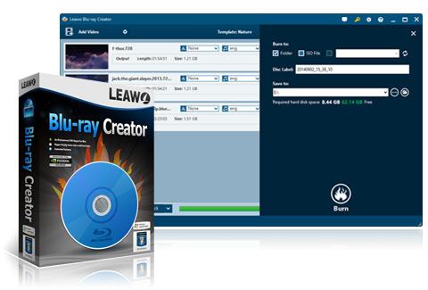 blu ray creator leawo - Leawo Blu-ray Creator : le meilleur lecteur et logiciel de gravure Blu-Ray