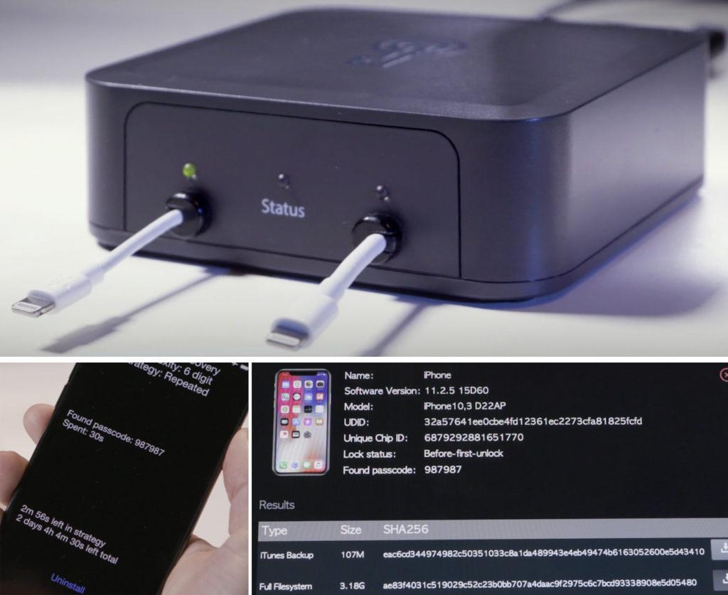 graykey 1024x837 - GrayKey : le boîtier qui peut déverrouiller tous les iPhone !