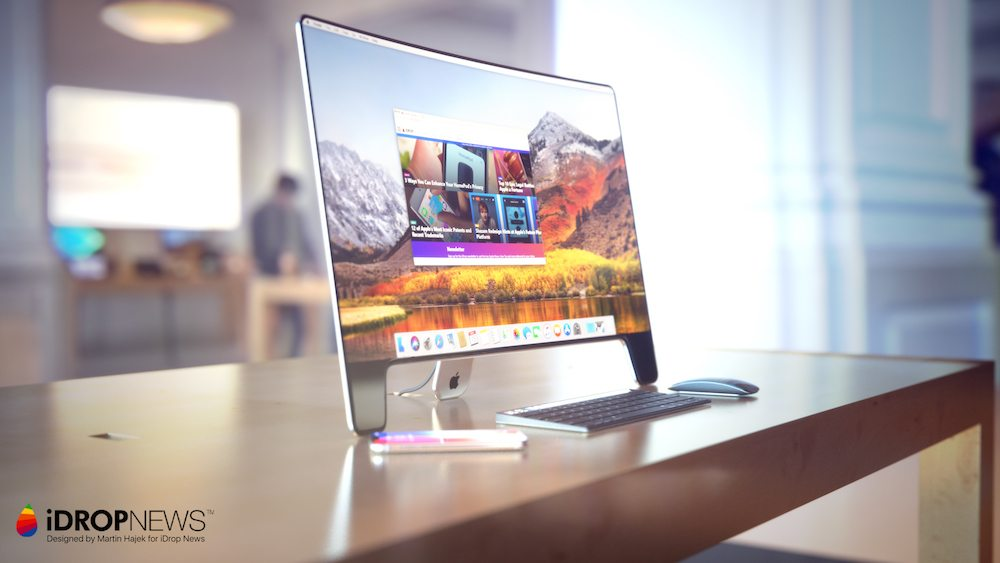 iDrop News 20th Anniversary Apple Studio Display Monitor Concept 221 - Apple Studio Display : un magnifique concept pour ses 20 ans