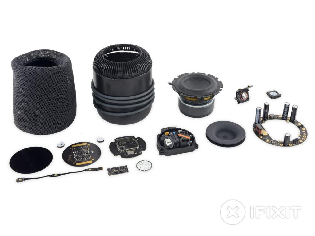 HomePod : iFixit a démonté l'enceinte connectée d'Apple