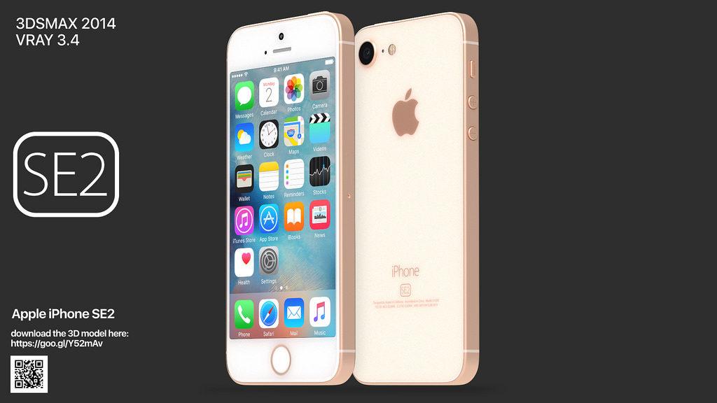 iphone se 2 martin hajek concept 1024x576 - iPhone SE2 : un concept reprenant des traits de l'iPhone 8