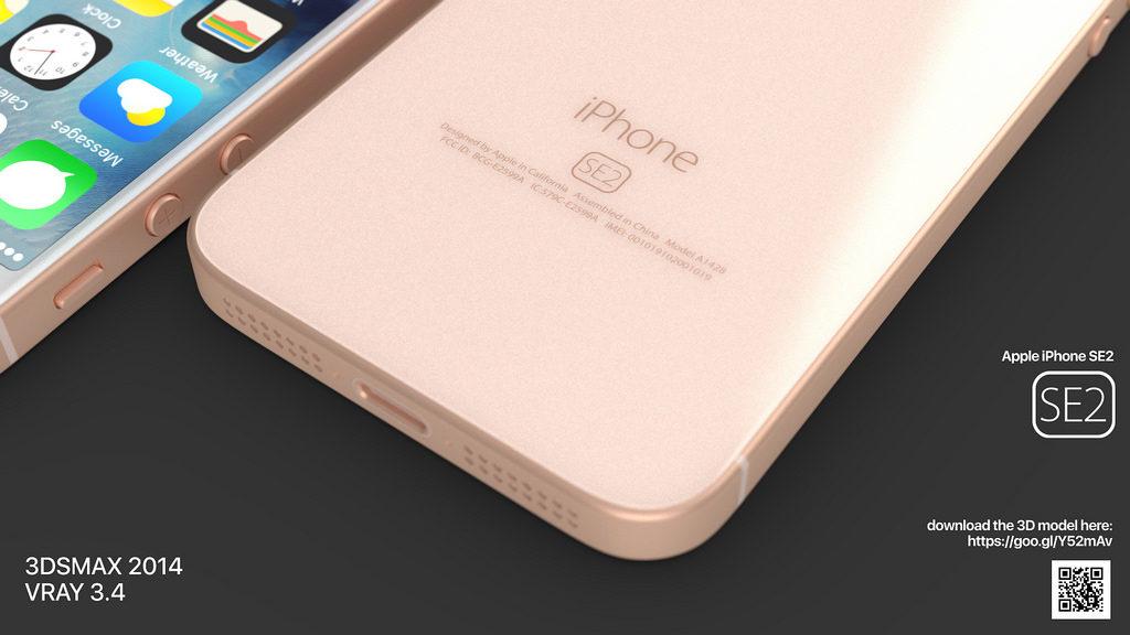 iphone se 2 martin hajek concept 2 1024x576 - iPhone SE2 : un concept reprenant des traits de l'iPhone 8